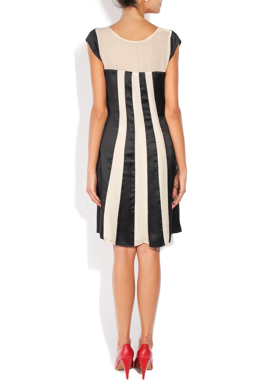 Black and ivoire dress Adriana Agostini  image 2