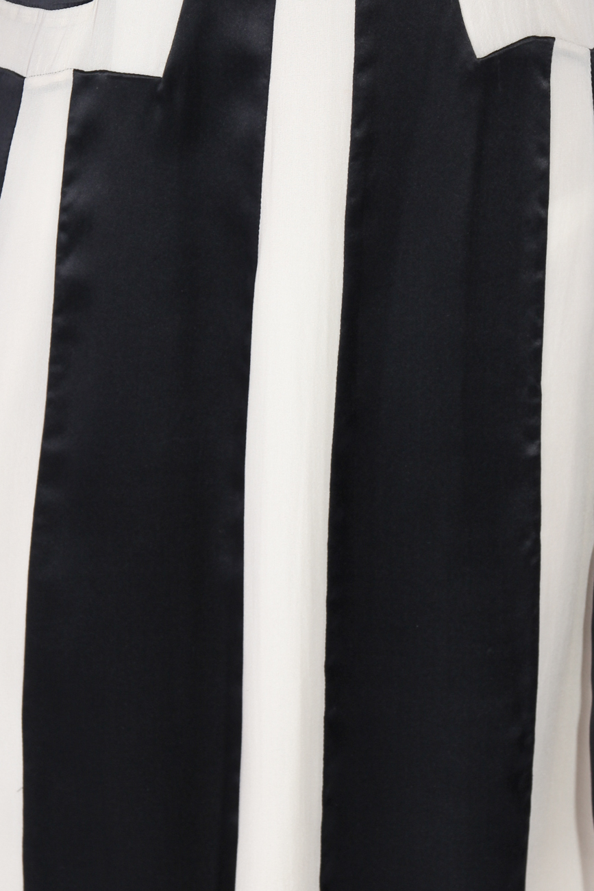 Black and ivoire dress Adriana Agostini  image 3