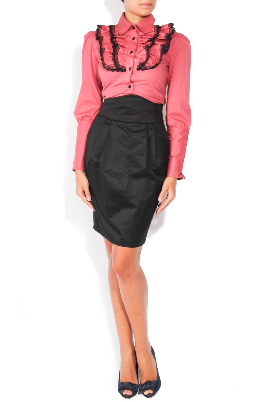 Black skirt with pockets T'esha by Diana Tatucu image 0