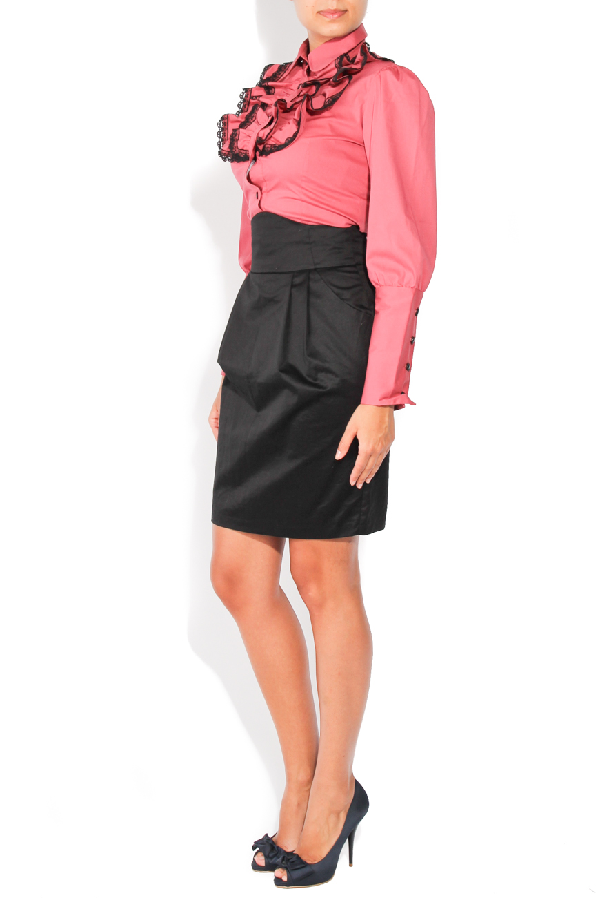 Black skirt with pockets T'esha by Diana Tatucu image 2