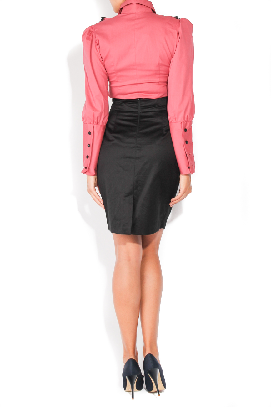 Black skirt with pockets T'esha by Diana Tatucu image 3