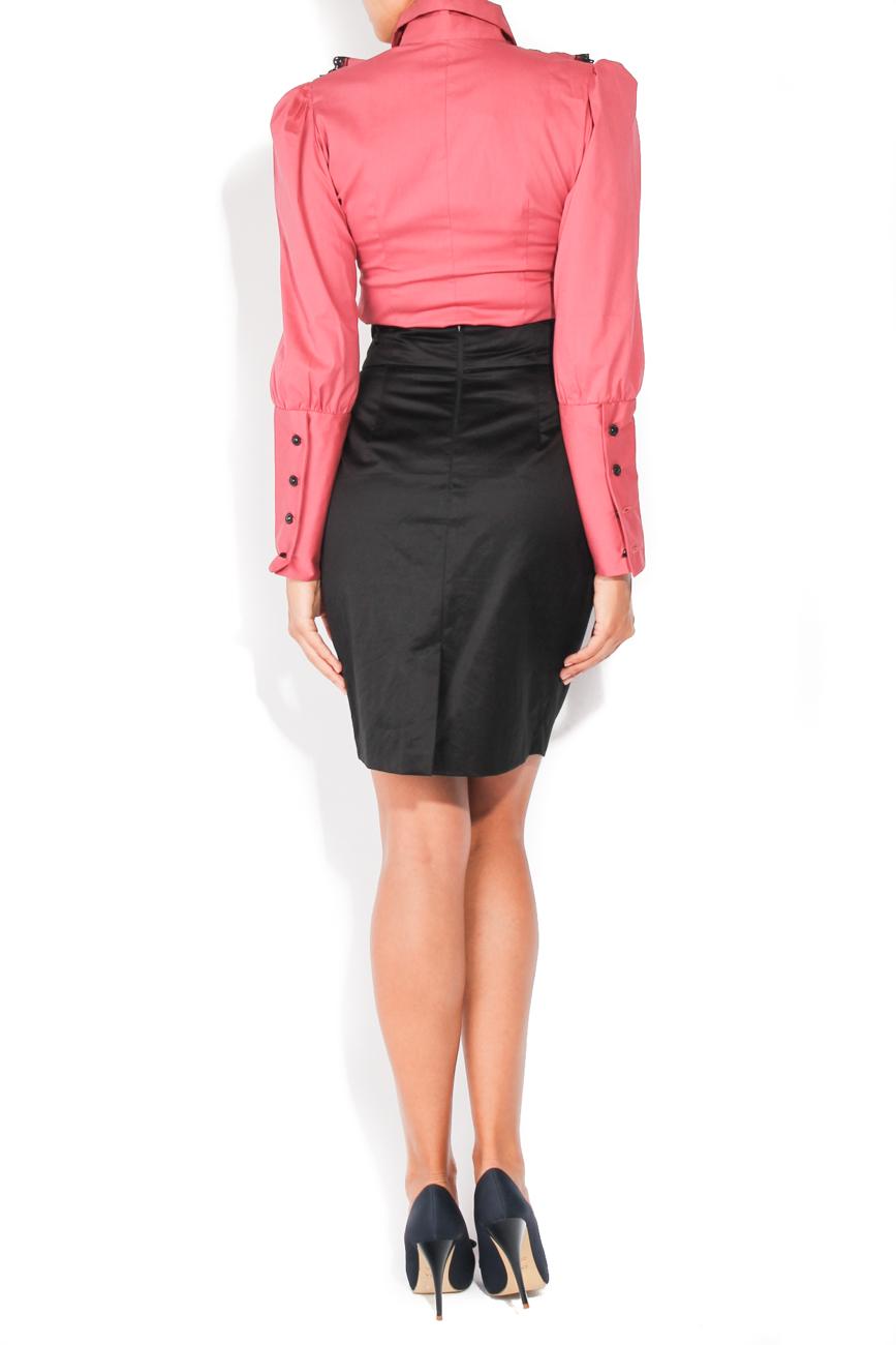 Black skirt with pockets T'esha by Diana Tatucu image 3