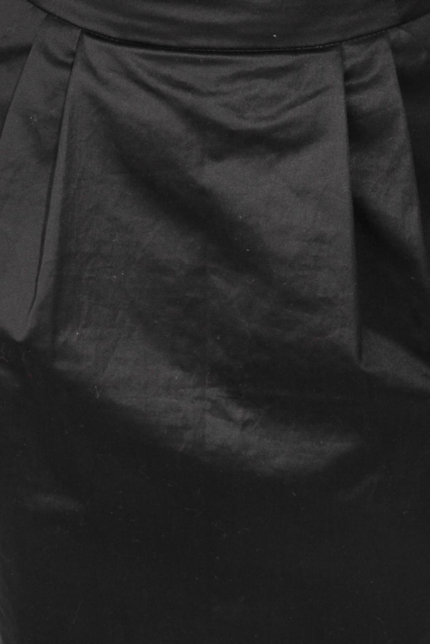 Black skirt with pockets T'esha by Diana Tatucu image 4