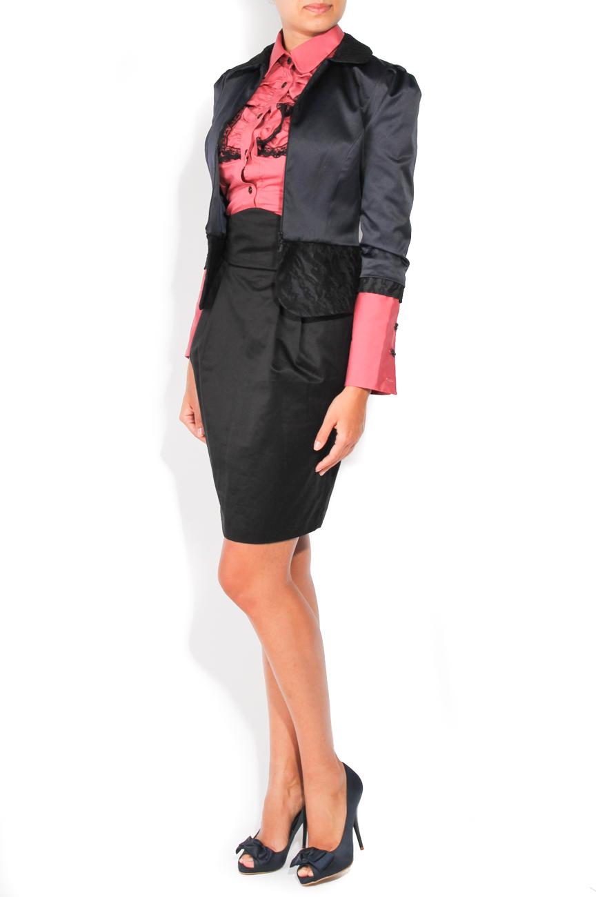 Navy and black jacket T'esha by Diana Tatucu image 1