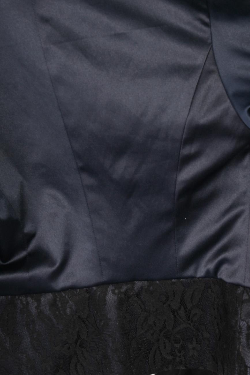 Navy and black jacket T'esha by Diana Tatucu image 3