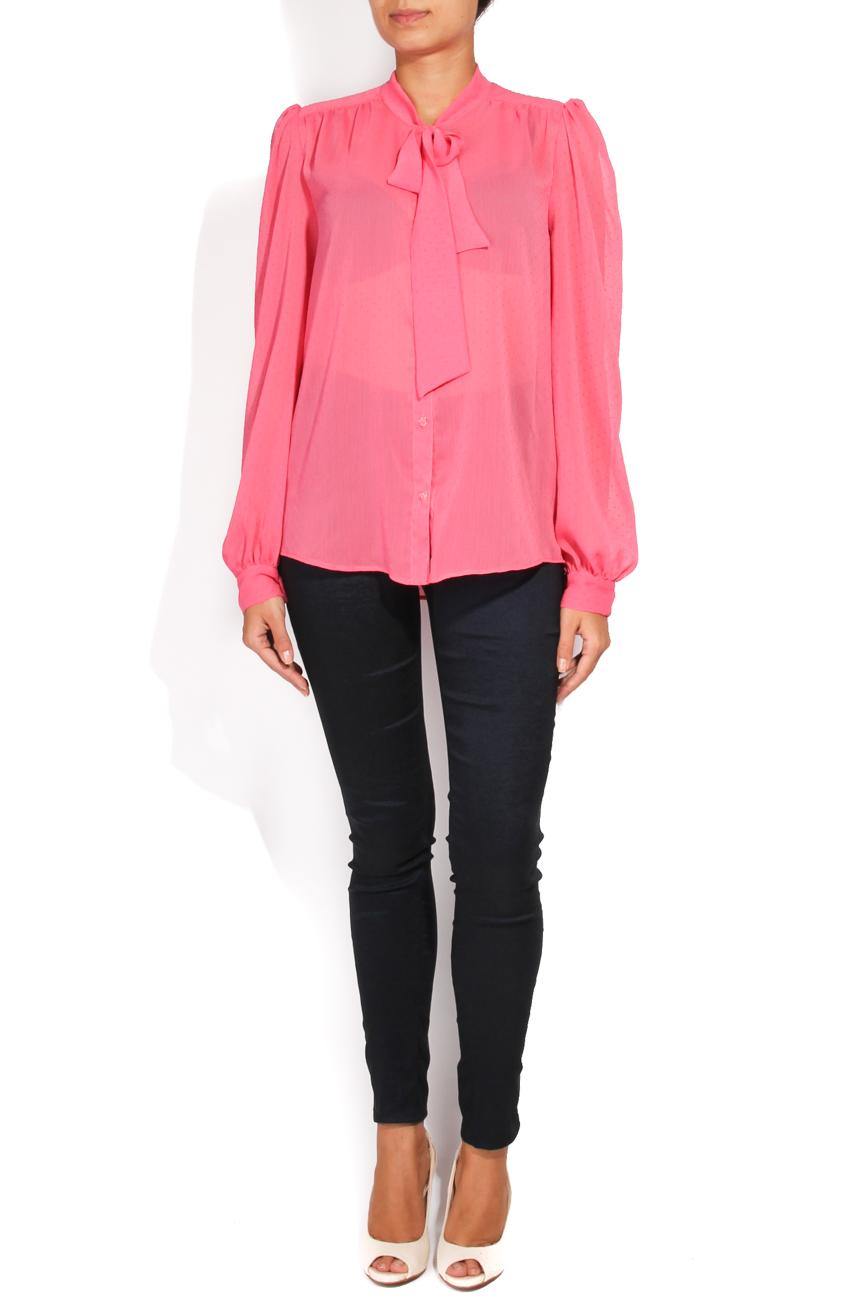 Fuchsia shirt T'esha by Diana Tatucu image 0