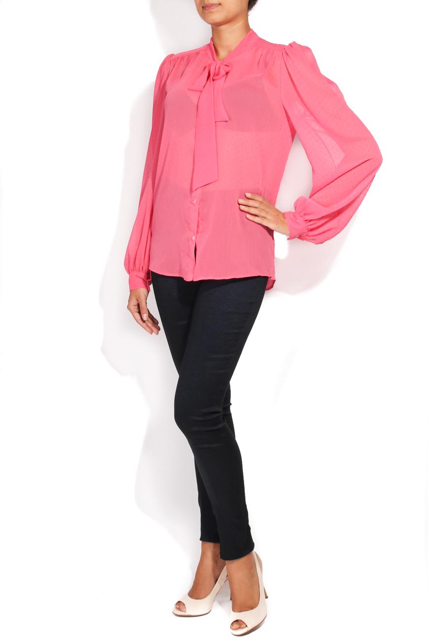 Fuchsia shirt T'esha by Diana Tatucu image 1