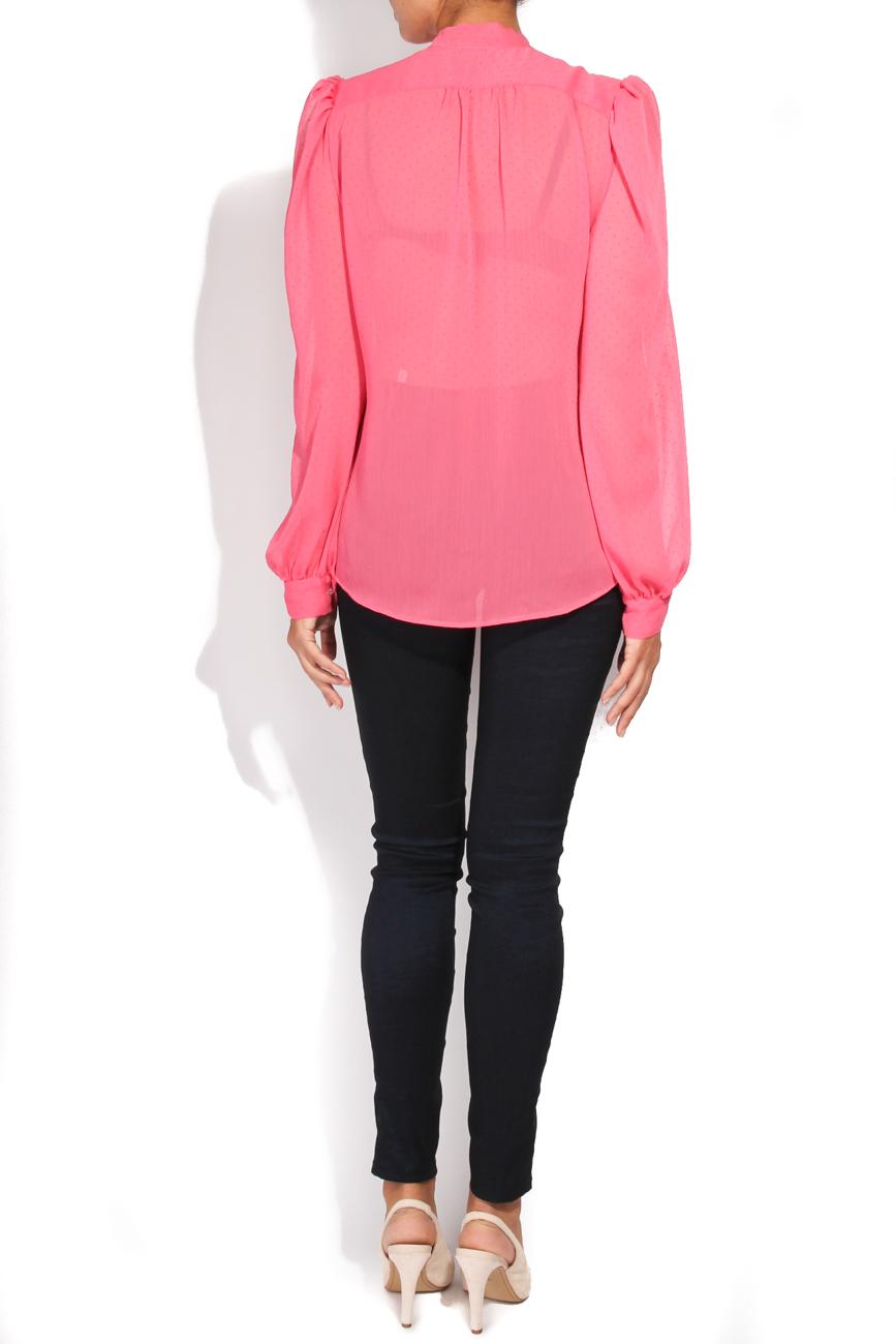 Fuchsia shirt T'esha by Diana Tatucu image 2