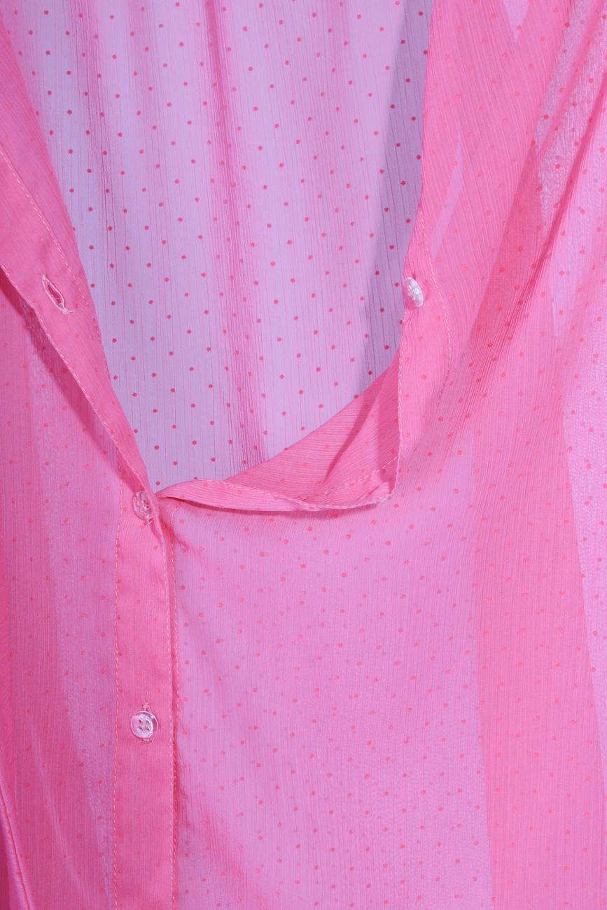 Fuchsia shirt T'esha by Diana Tatucu image 3