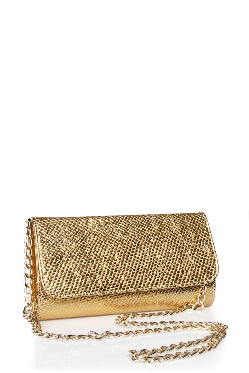 Golden clutch Giuka by Nicolaescu Georgiana  image 0