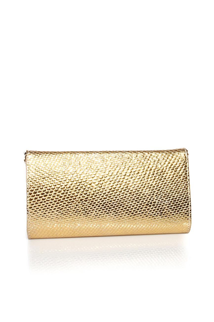 Golden clutch Giuka by Nicolaescu Georgiana  image 2