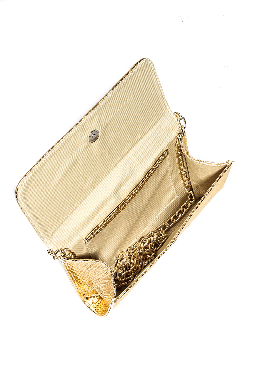 Golden clutch Giuka by Nicolaescu Georgiana  image 3