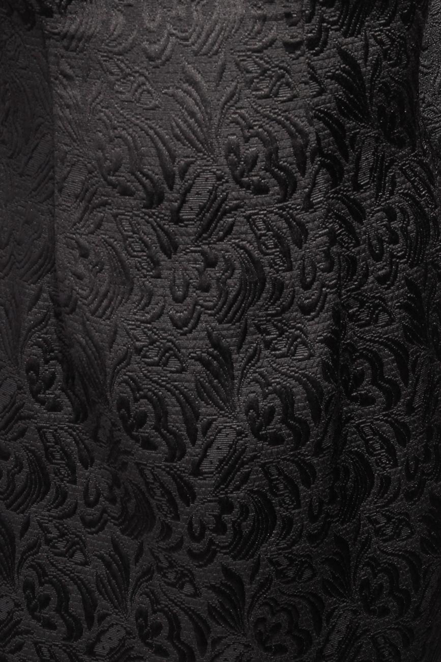 Brocade dress with applied ruffle Carmen Ormenisan image 3