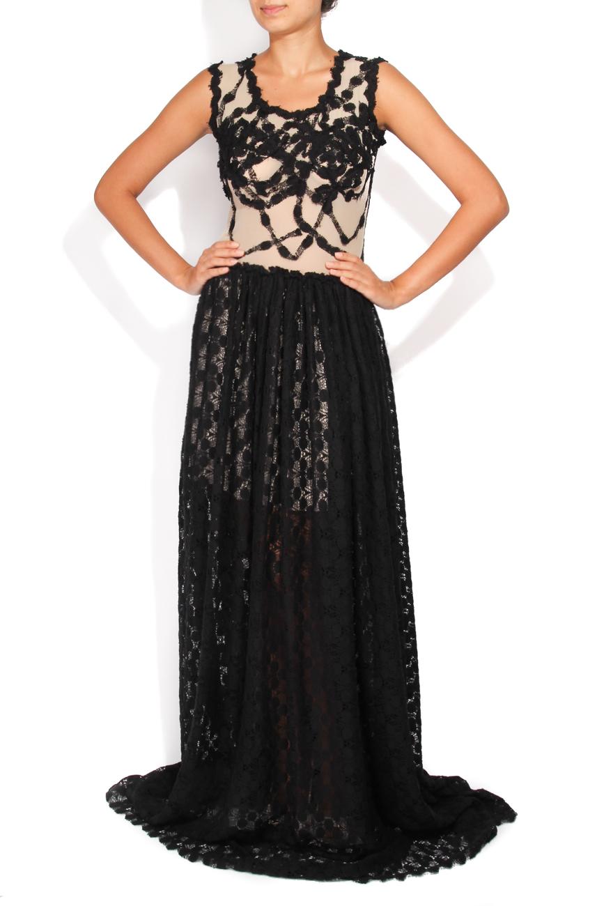Black lace dress Carmen Ormenisan image 0