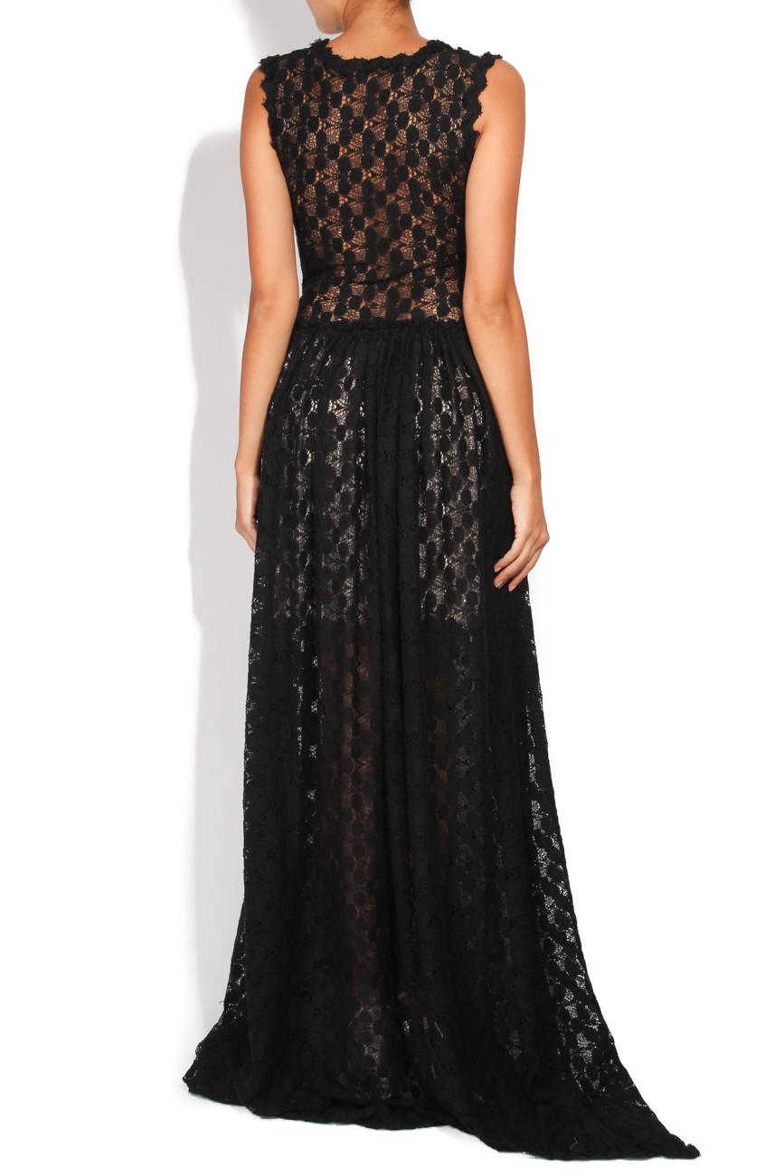 Black lace dress Carmen Ormenisan image 2