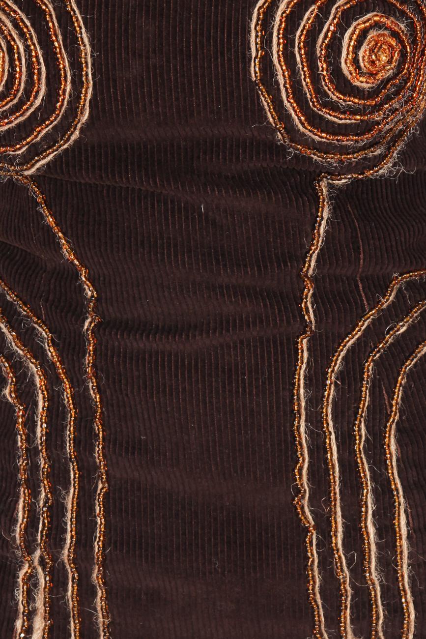 Deux Pieces of brown velvet Loredana Novotni image 3