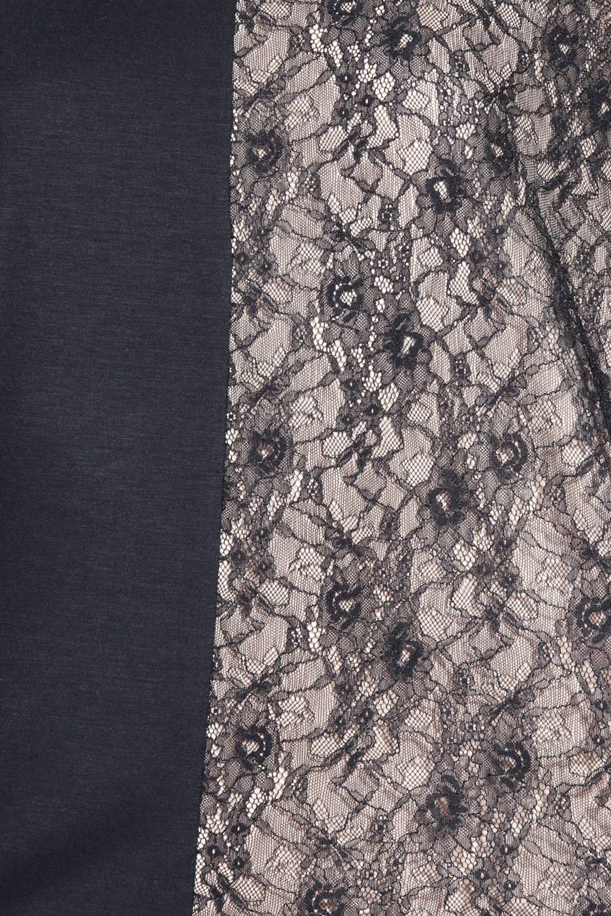 Blouse with lace Karmen Herscovici image 3