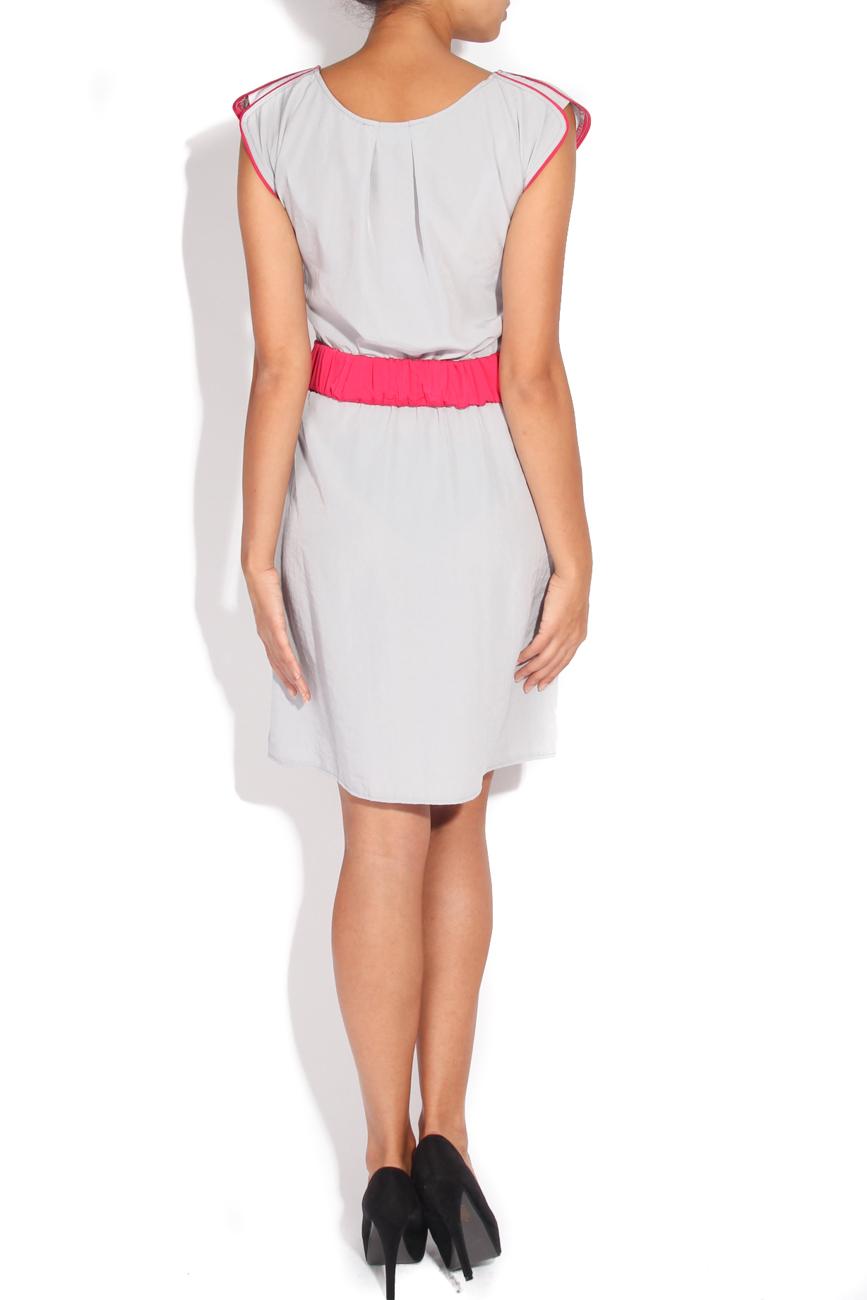 Grey dress with a drawstring Karmen Herscovici image 2
