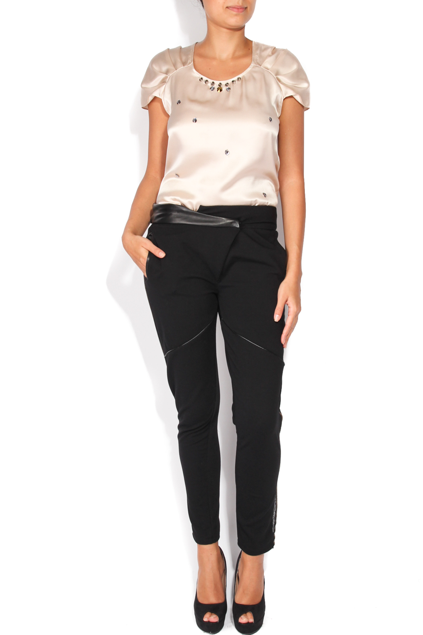 Trousers with inserts Elena Perseil image 0