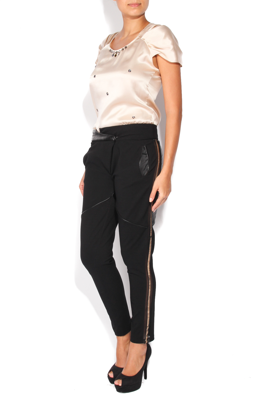 Trousers with inserts Elena Perseil image 1