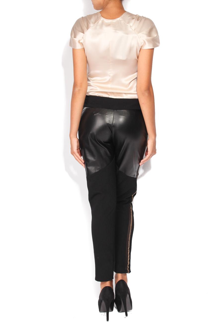 Pantalon avec insertions Elena Perseil image 2