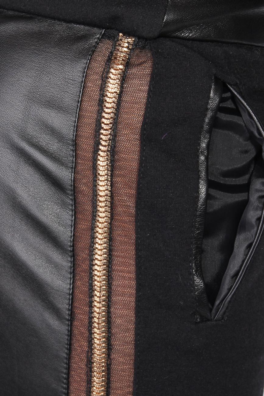 Pantalon avec insertions Elena Perseil image 3