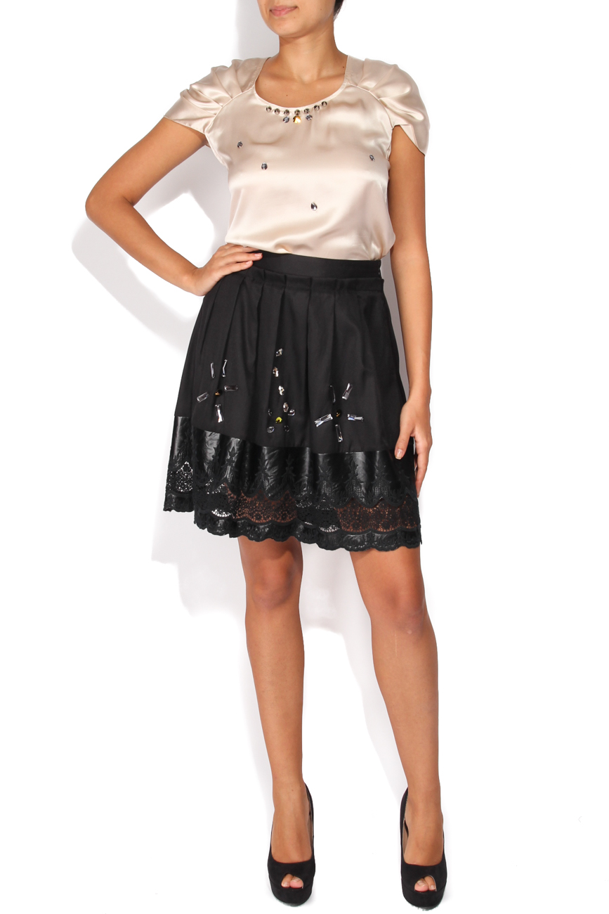 Skirt with rhinestones Elena Perseil image 0
