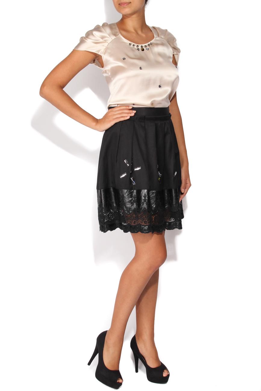 Skirt with rhinestones Elena Perseil image 1