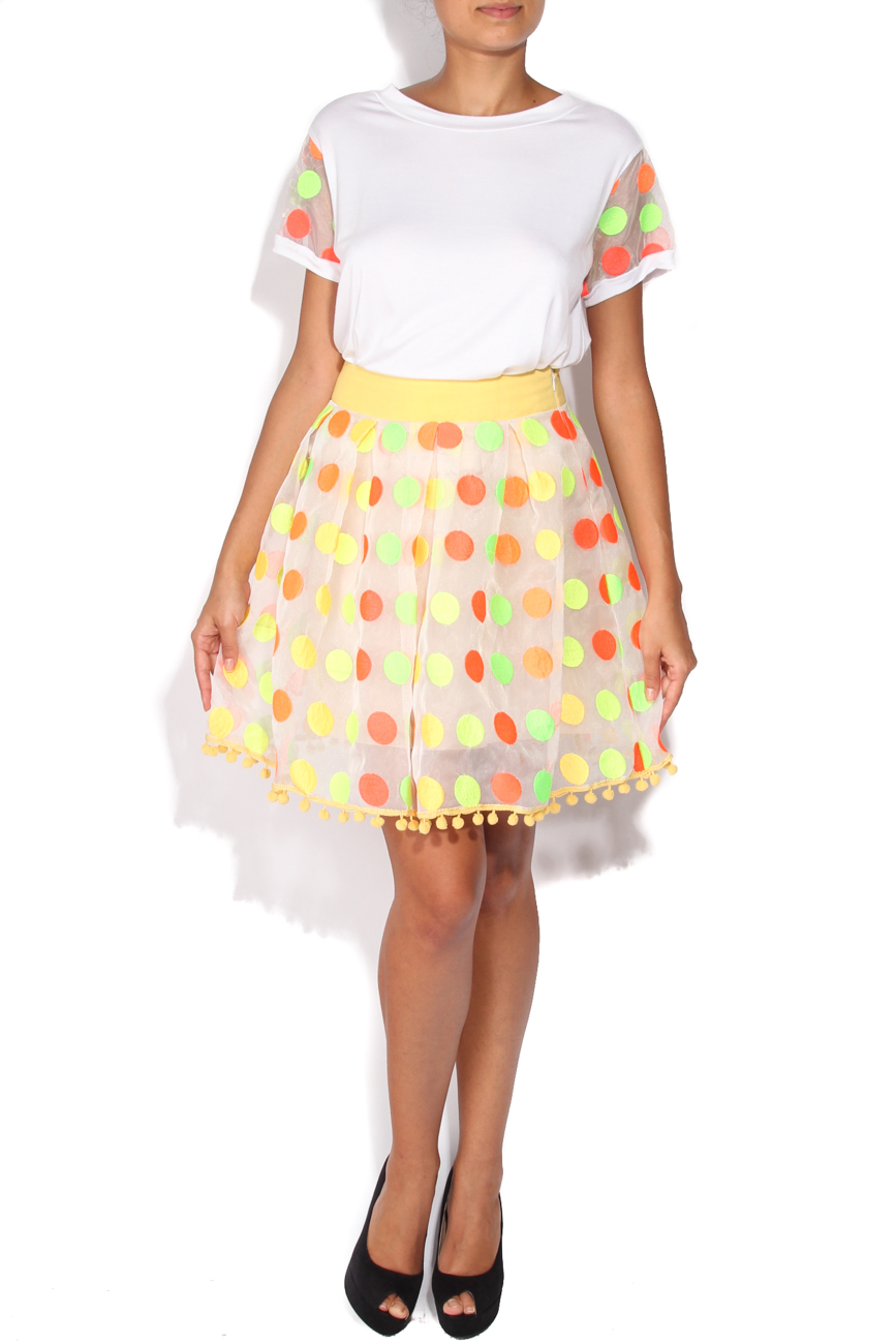 Colored dots skirt Elena Perseil image 0