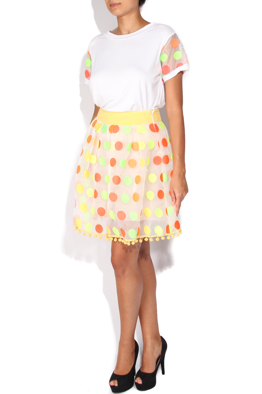 Colored dots skirt Elena Perseil image 1