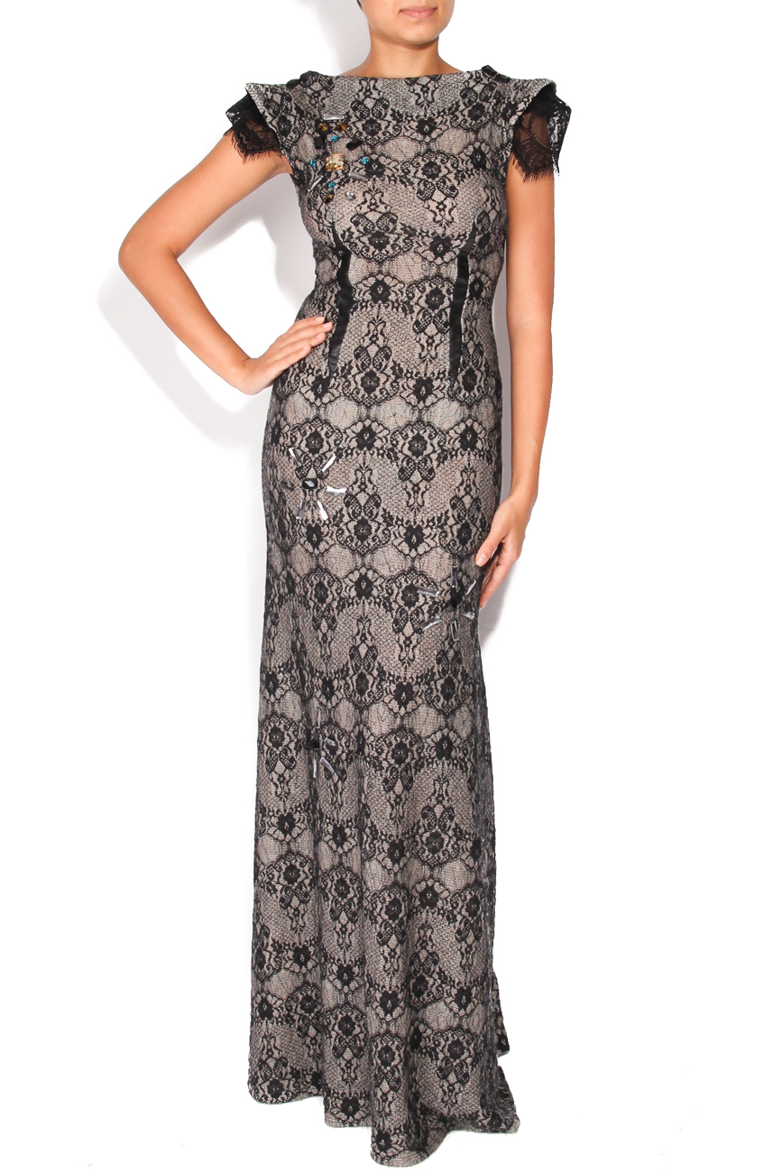 Black lace dress Elena Perseil image 0