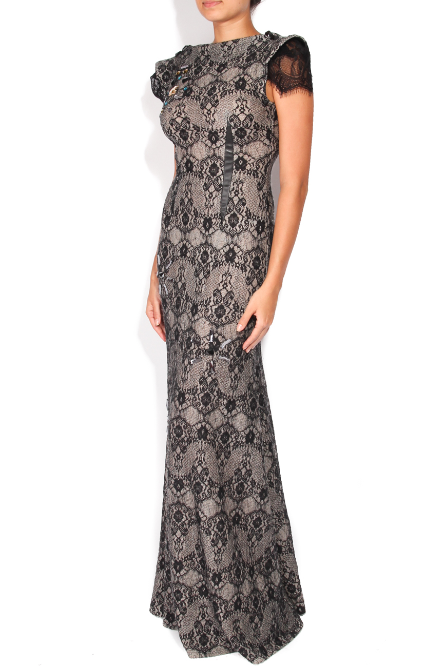 Black lace dress Elena Perseil image 1