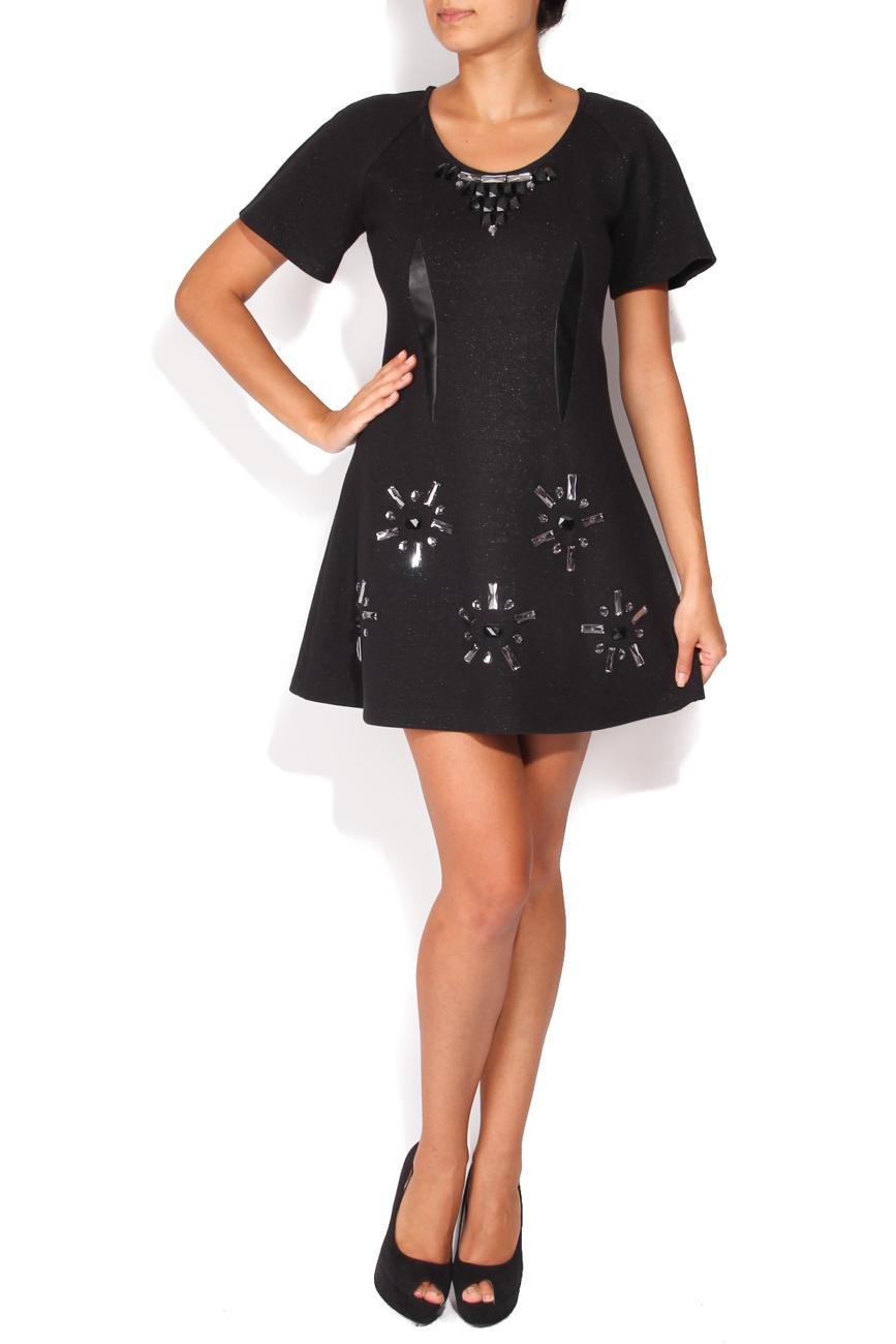 Robe noire strass Elena Perseil image 0