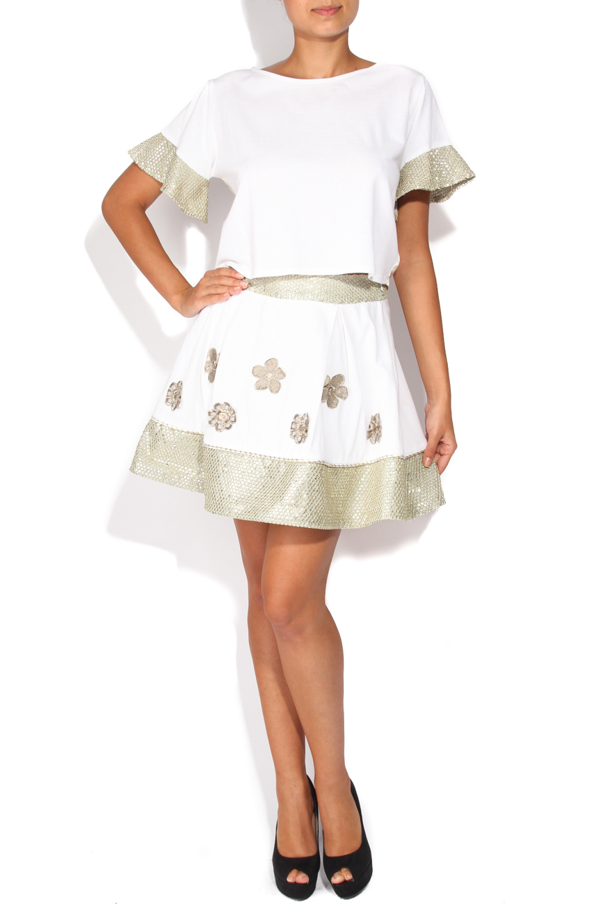 Skirt with silver band Elena Perseil image 0