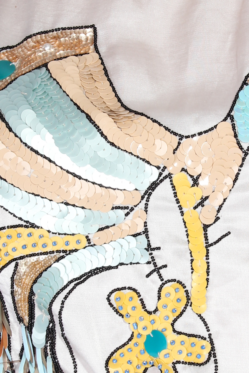T-shirt with crane Elena Perseil image 3