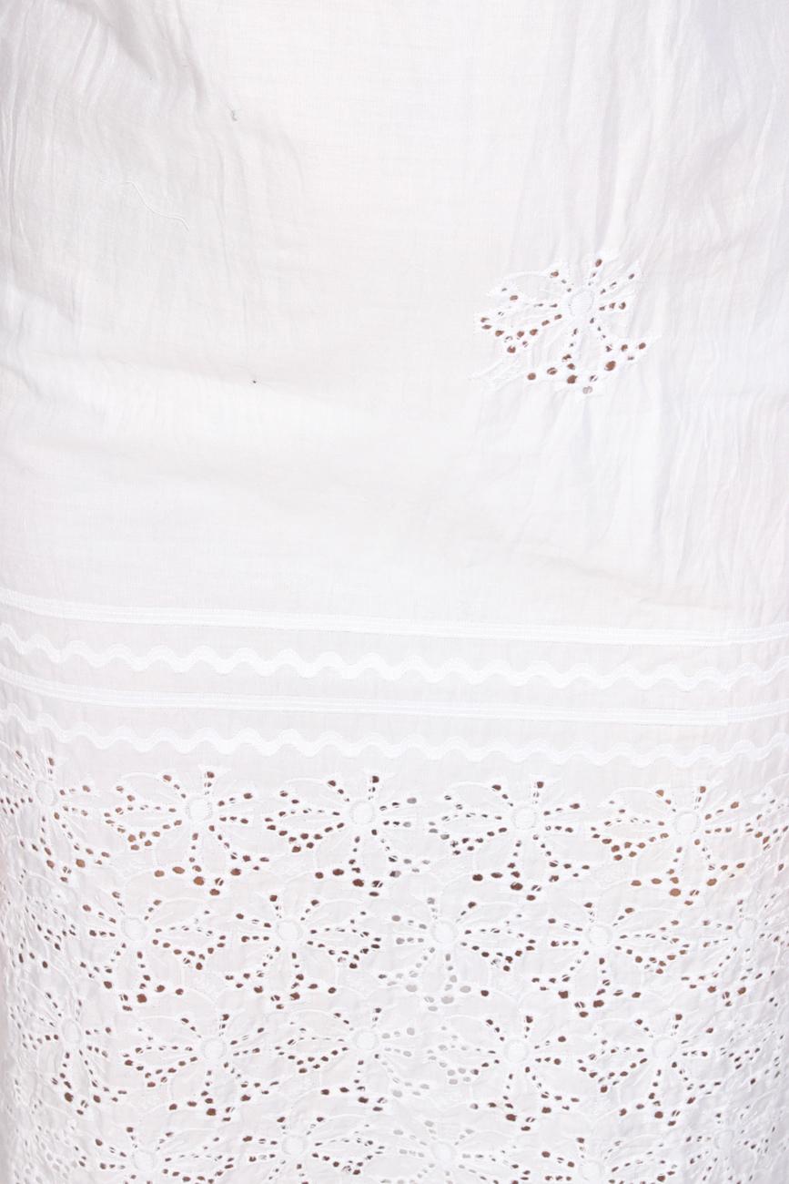White dress wih collar Dorin Negrau image 3