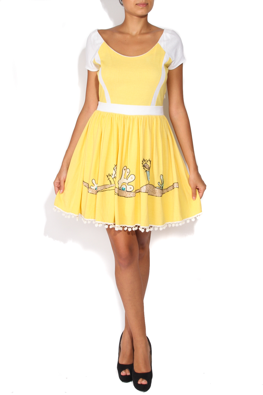 Robe jaune Elena Perseil image 0