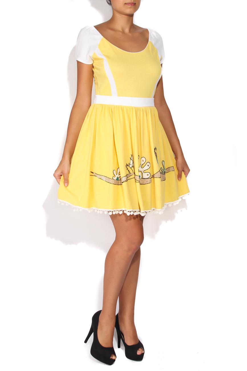 Robe jaune Elena Perseil image 1