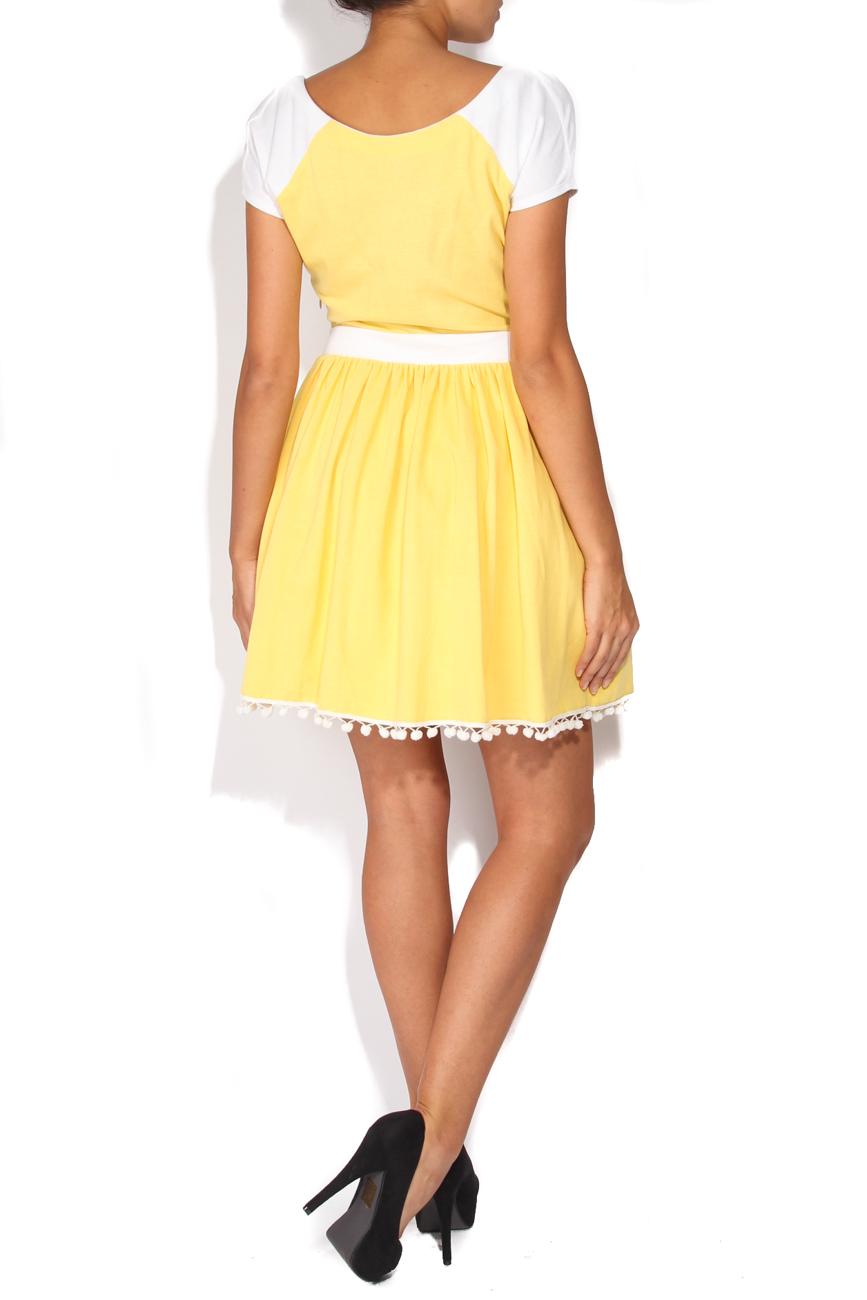 Robe jaune Elena Perseil image 2