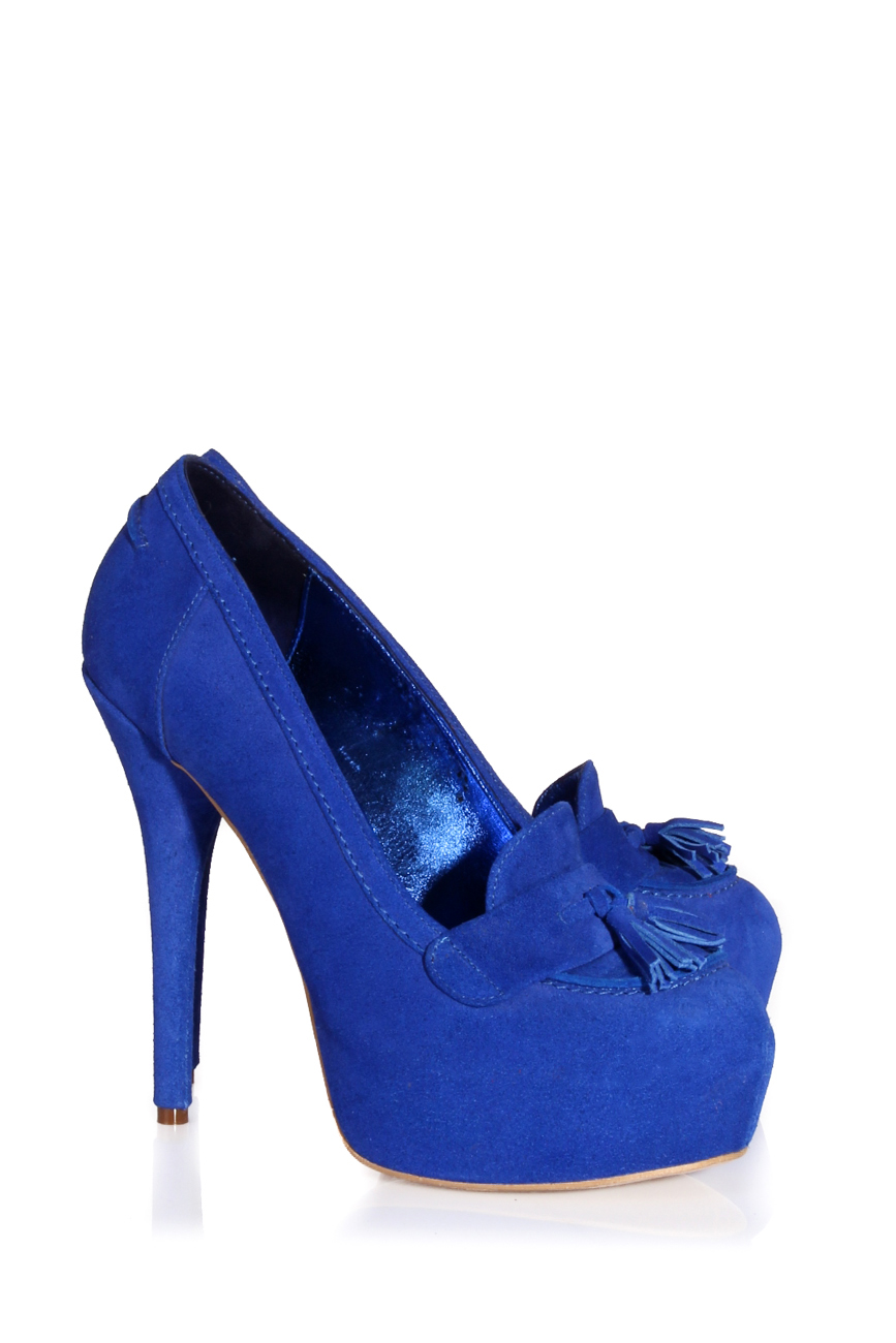Escarpins bleu électrique Ana Kaloni image 0