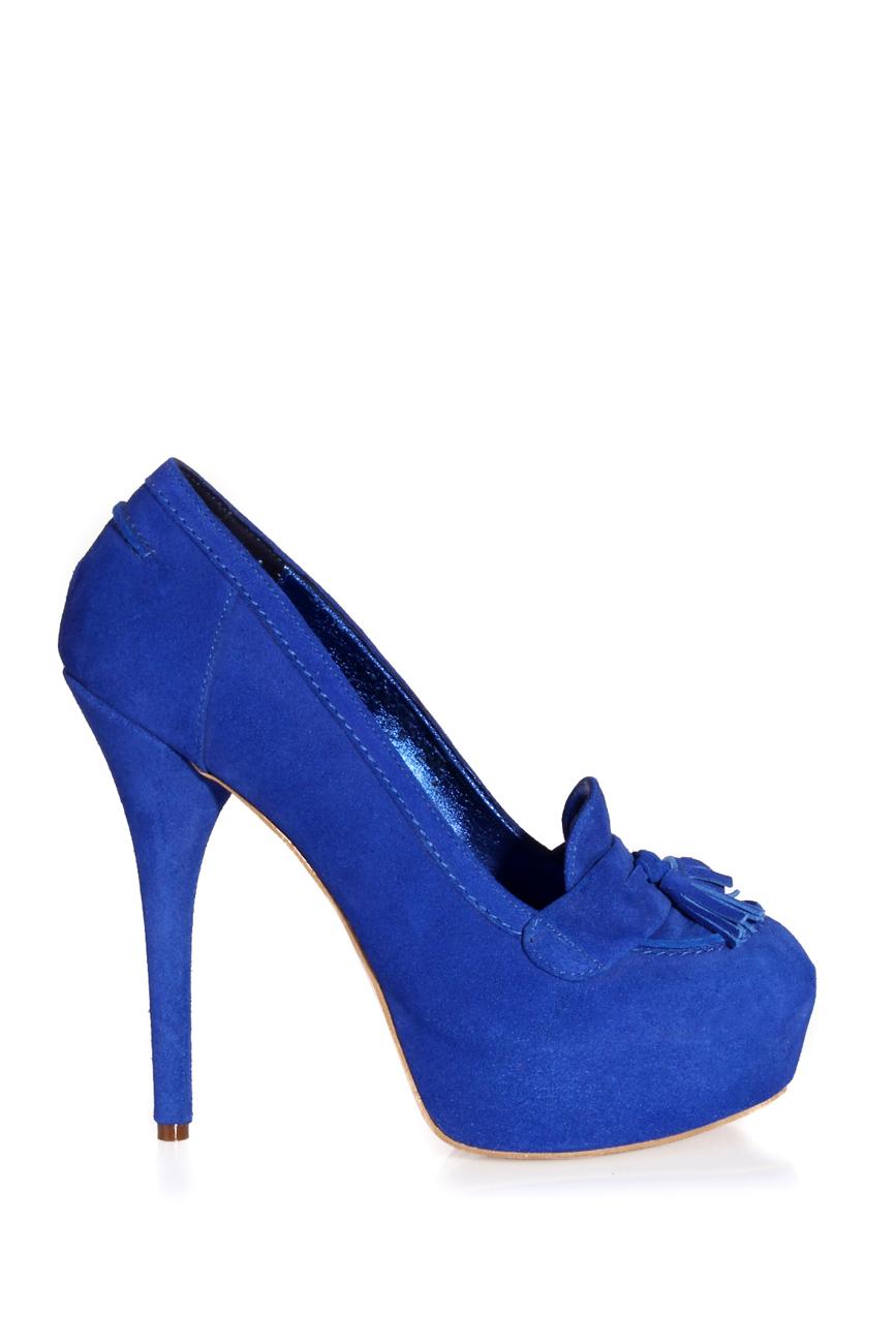 Escarpins bleu électrique Ana Kaloni image 1