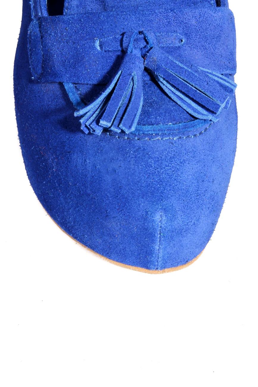Escarpins bleu électrique Ana Kaloni image 3