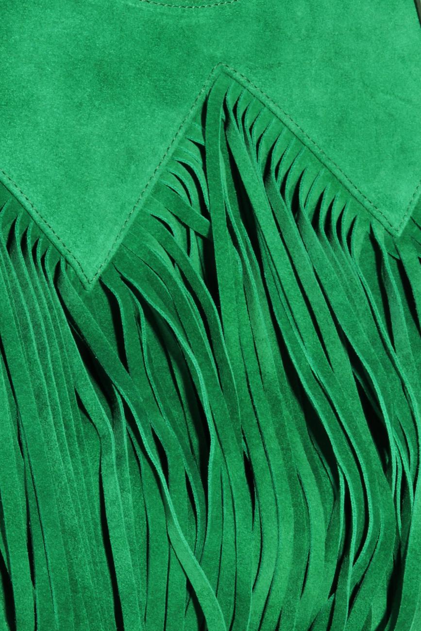 Sac à main vert à franges Ana Kaloni image 2