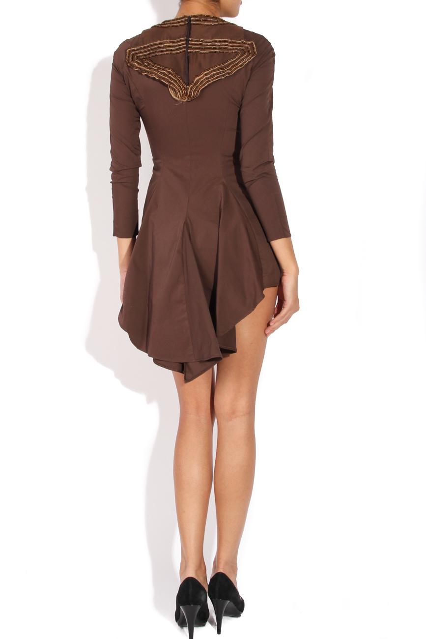 Asymmetrical dress with sleeves Loredana Novotni image 2