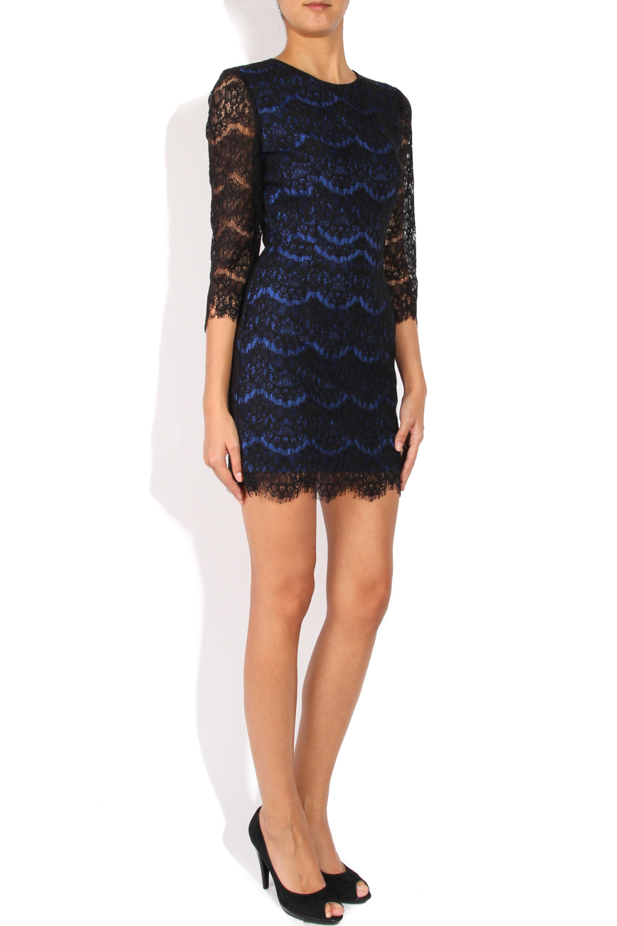 Black lace dress Cristina Staicu image 1
