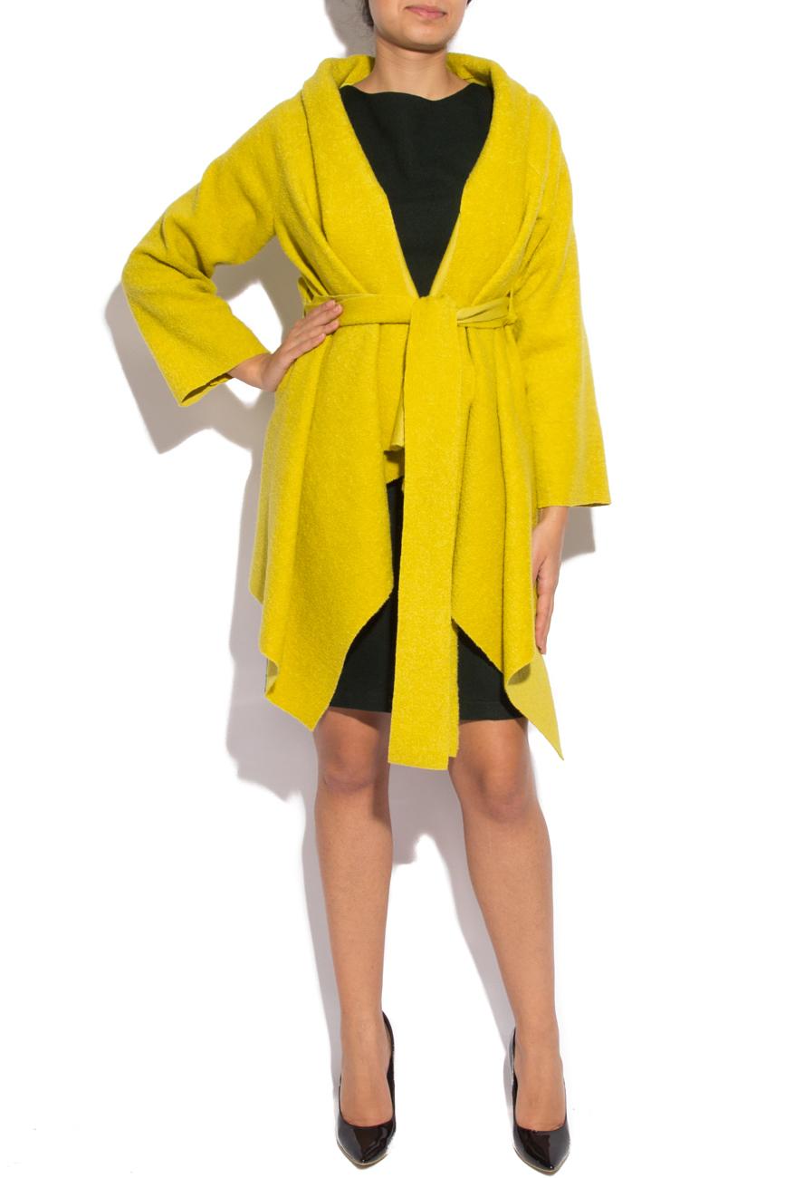 Yellow cardigan Dorin Negrau image 1