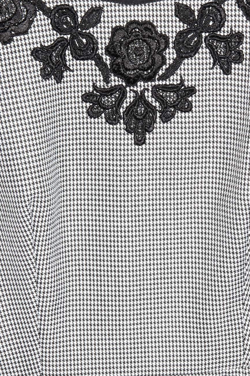 Houndstooth dress Cristina Staicu image 3
