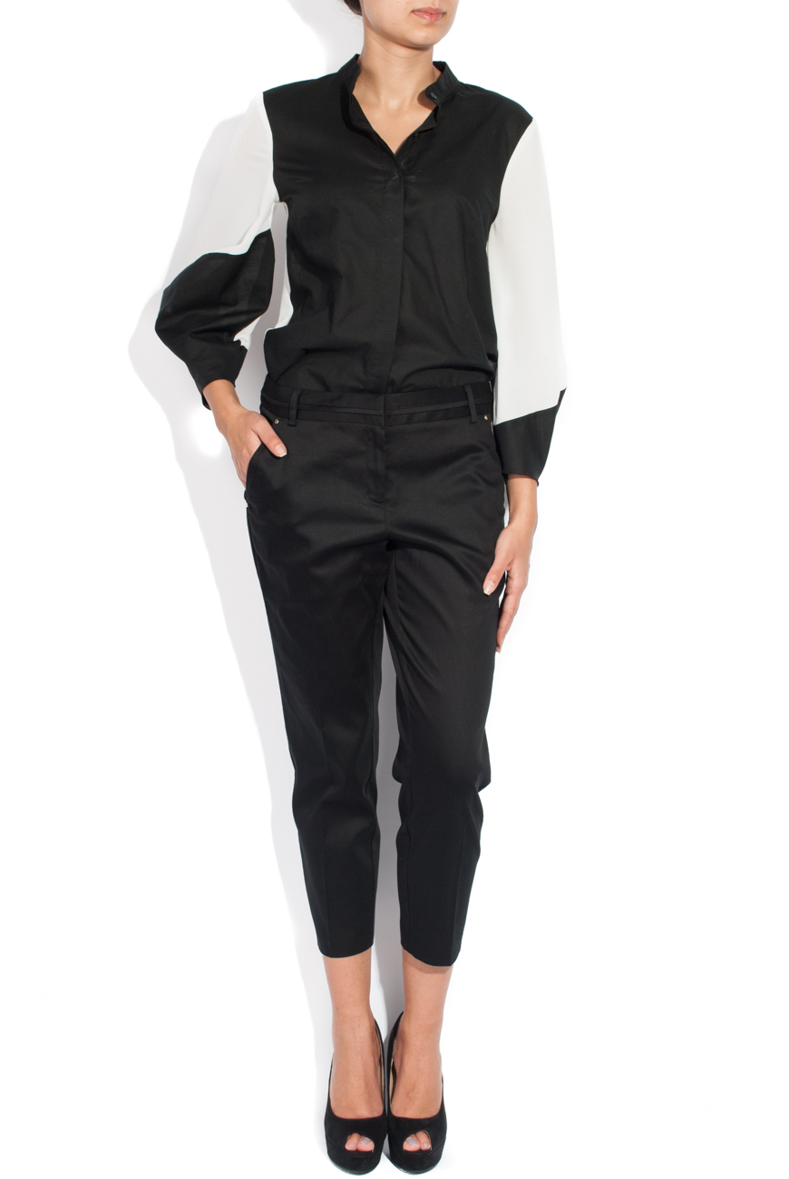 Classic black trousers Cristina Staicu image 1