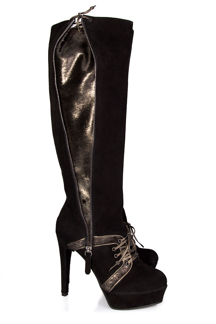 Boots with pony details Ana Kaloni image 0