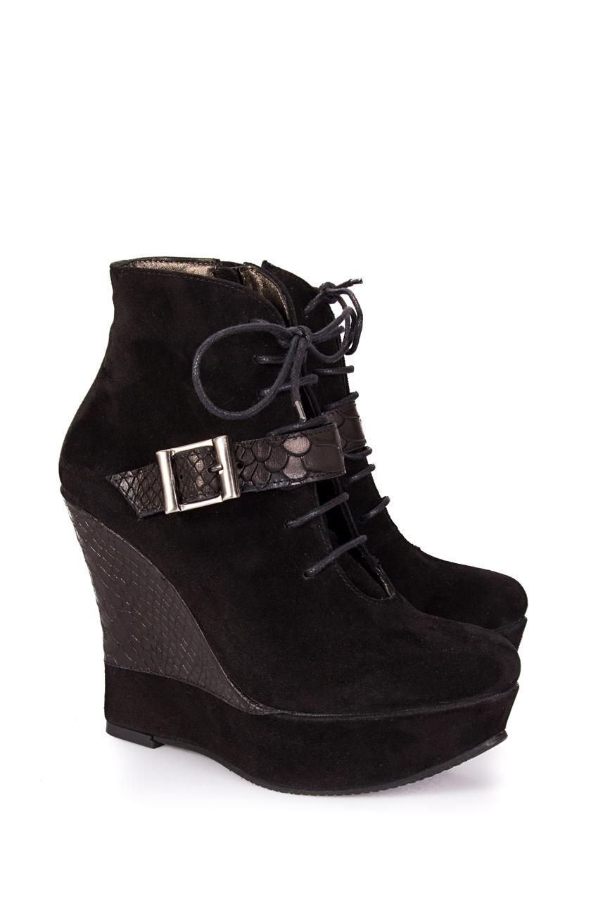 Croco boots Ana Kaloni image 0